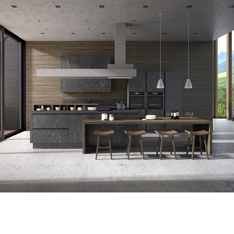 Кухня Ноа Лофт (мрамор)